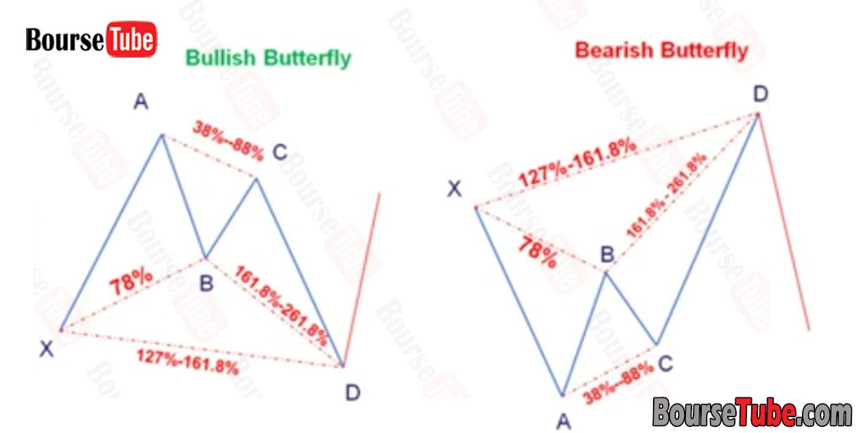 الگوی پروانه Butterfly Pattern